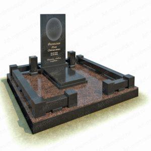 Гранитный мемориальный комплекс №04-2