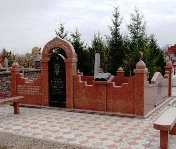 Облагораживание мусульманских захоронений на кладбище