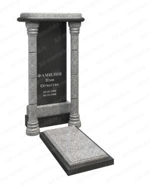 Памятники с гранитной аркой № 102