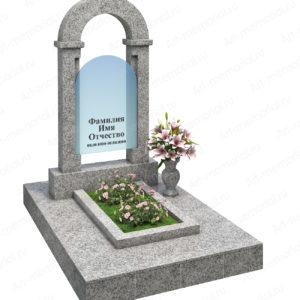 Памятники с гранитной аркой № 104