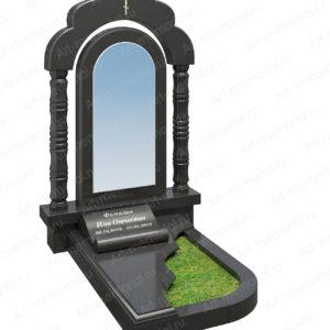 Памятники с гранитной аркой № 107-4