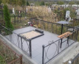 Благоустройство захоронений